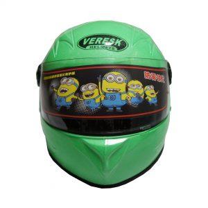 کلاه کاسکت کودکان سبز